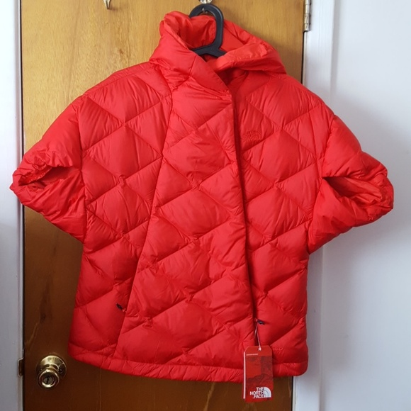 81d17563ae NWT Women Northface Far Northern Hooded Capelet